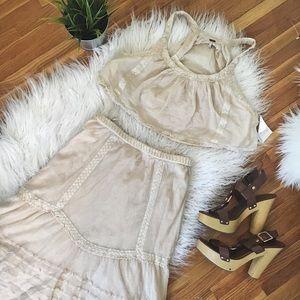 🆕*NWT* Free People Crop Top & Skirt Set